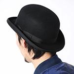 Шляпа CHRISTYS арт. FASHION BOWLER cwf100005 (черный)